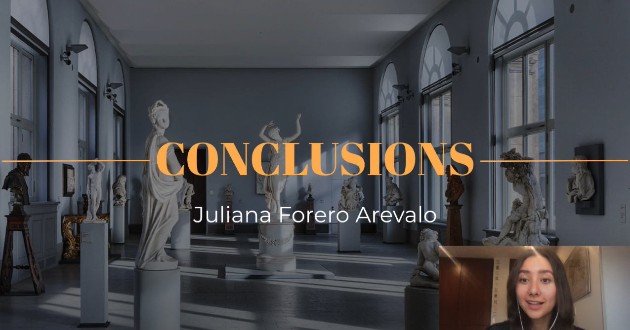 Student video entitled Conclusions in Teaching, by  Juliana Forero Arevalo