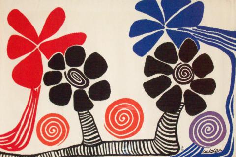 Les Palmiers (America is Blooming)_Alexander Calder