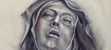 Audrey L. Flack. Ecstasy of St. Theresa, 2013. Digital print and serigraph on paper, 75/75