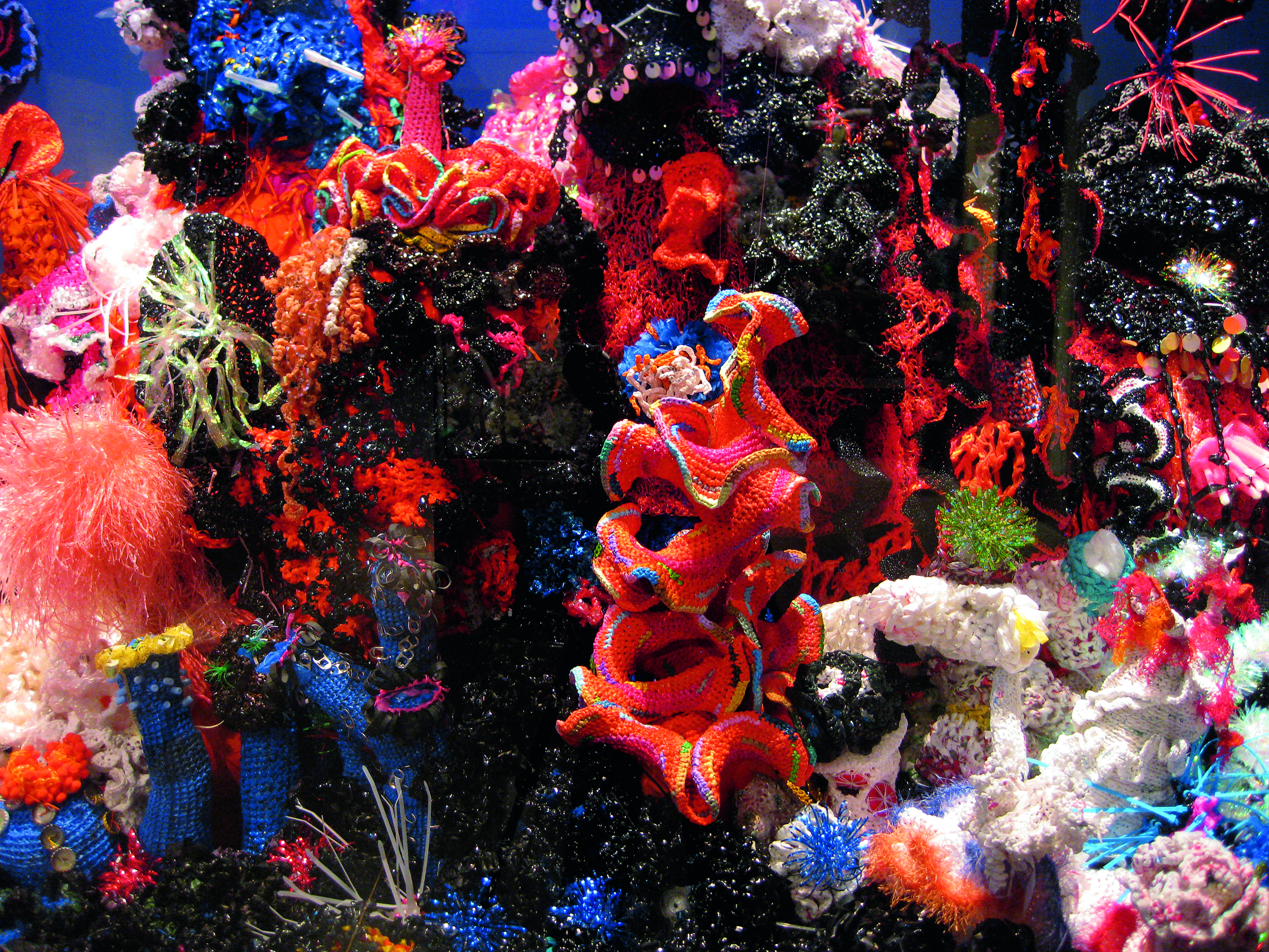 The Toxic Reef at the Smithsonian's National Museum of Natural History, Washington, D.C., 2011.